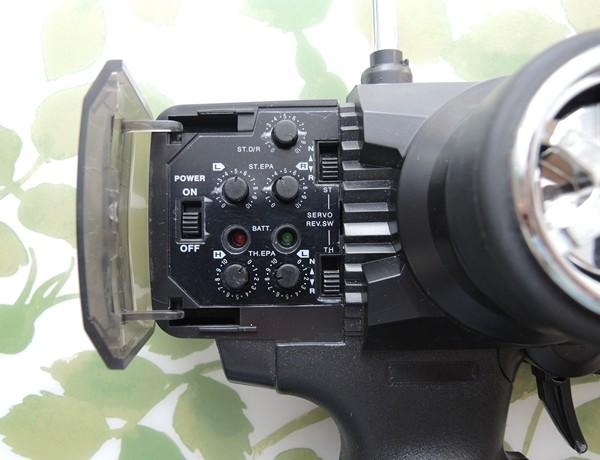 2Ch Transmitter Controls